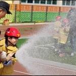 대정119센터, 대정초등학교 안전체험 운영