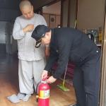 동홍119센터, 사찰 안전점검 및 교육
