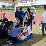 안덕119센터, 어린이날 행사장서 소방안전체험장 운영
