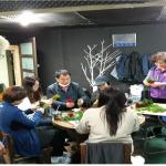 화북동지역사회보장협의체, 독거노인들에 카네이션 만들어 달아드리기