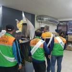 봉개동 지역자율방재단 안전캠페인 실시