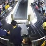 제주국제공항 국제선에 수하물 미끄럼 방지시설 도입