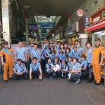 동홍119센터-의용소방대, 소방차 길 터주기 캠페인