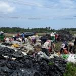 행원리부녀회, 영농폐기물 수거 작업 실시