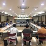 용담2동 통장협의회 기초질서지키기 추진 논의