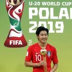 세계가 놀란 왼발…이강인, MVP '골든볼' 수상
