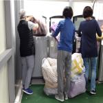 이도1동지역사회보장협의체, '사랑나눔빨래방' 봉사 참여