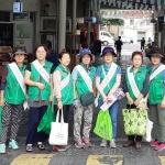 용담2동새마을부녀회, 전통시장 이용 캠페인 전개