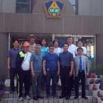 몽골 교육교류단, 제주 아라중 방문