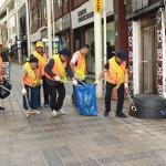일도1동통장협의회, 환경기초질서지키기 홍보 캠페인