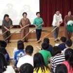 구좌중앙초, '해녀 노래 부르기' 등 제주해녀문화 관련 행사 진행