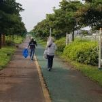 표선농협 농가주모임, 산책로 쓰레기 줍기 봉사활동 진행