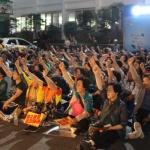 """거리로 나선 시민들 """"제2공항 중단...도민공론화 수용하라"""""""