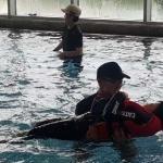 제주영지학교, '안전한 물놀이' 생존수영교육 실시