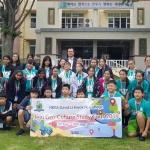 제주동여중, 홍콩 방한교육여행단 방문