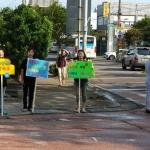 세화초, '스쿨존! 안전 속도를 지켜주세요!' 학부모 교통안전 캠페인 운영