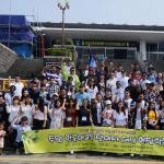 제주도외국인근로자상담센터, 주말 한국어교육 참여자 현장학습 진행