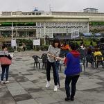 바르게살기운동 일도1동위원회, 불법 노상적치물 계도 캠페인