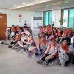 용담2동 노인일자리 참여자 혹서기 대비 안전교육 실시
