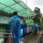 애월읍, 태풍 '다나스' 피해 예방 클린하우스 점검