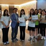 서귀포여고, 고성 인흥초교에 평화통일장학금 기부