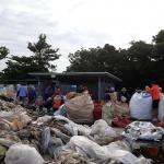 평대리부녀회, 영농폐기물 수거 작업 실시