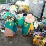 하도리부녀회, 영농폐기물 수거 활동