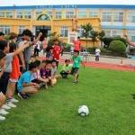 풍천초, 제주유나이티드FC와 찾아가는 축구교실 운영