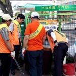 용담1동통장협의회, 쓰레기 불법투기 단속