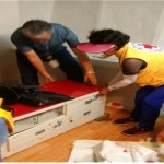 화북동주민센터, 저소득 가정에 사랑의 청소년 공부방 선물