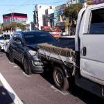서귀포서 차량 4중 추돌사고...9명 부상