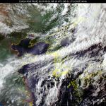 [내일 날씨] 흐리고 강한 비, 최고 150mm↑...제11호 태풍 '바이루' 경로는?