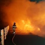가파전담의용소방대, 신속한 대응으로 화재진압