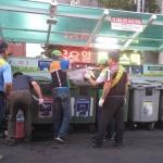 한림읍 자율방재단, 불법쓰레기 단속 실시