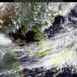 [내일 날씨] 흐리고 산발적 비, 5~40mm...태풍 '바이루' 위치는?