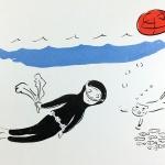 '해녀 비바리와 고냉이'의 일상은?...오은미 작가 개인전, 갤러리 ICC JEJU