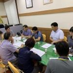 중앙동통장협의회, 8월 정례회의 개최