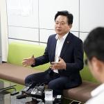 """원희룡 """"지금 정치상황에서는 입당 생각 없어"""""""