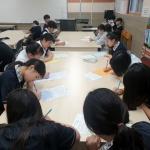 아라중, 3.1운동 100주년 기념 독립선언서 필사 행사