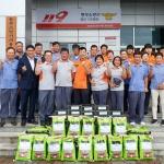 성산119센터, 성산·신산 남여의용소방대와 나눔행사-화재예방 캠페인