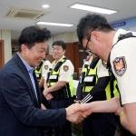 원희룡 지사, 추석 연휴 현장 근무자 격려방문