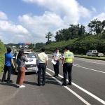 제주동부경찰서, 교통사고 현장 유관기관과 합동점검