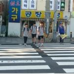 바르게살기운동용담1동위원회, 제주중학교 교통봉사활동