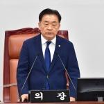 """김태석 의장 날선 비판...""""왜 도민들에게 강요만 하나?"""""""
