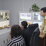 원희룡 지사, 제주공항 아프리카돼지열병 방역현장 점검