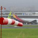 제주공항, 태풍 접근 밤 시간대 항공기 결항 이어질 듯