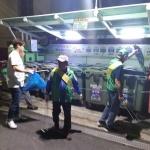 용담1동새마을지도자지도자협, 불법쓰레기 투기 단속 전개