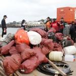 제주해양경찰서, 북촌어촌계와 다려도 연안정화활동 전개