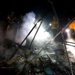 제주, 이호해수욕장서 텐트 '불'...180여만원 재산피해
