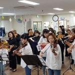 설문대문화센터 플루트&바이올린동아리, '찾아가는 재능나눔' 공연